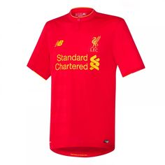 d827a2158 Liverpool FC New Balance Youth 2016 Replica Home Jersey - Red