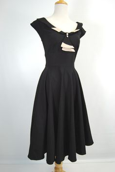 Stop Staring Clothing Lavish 1950's Retro Swing Dress