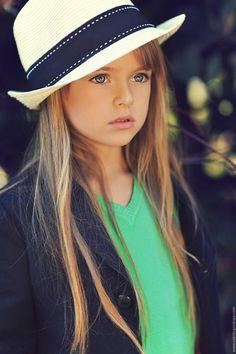 Such a CHIC Little girl!! Kristina Pimenova - Russian child model
