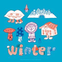 Drawing Wonder • もう冬なんじゃないの今。秋の味覚も終わってるし。 と思ったりするんだけど本当の真冬の寒さは...