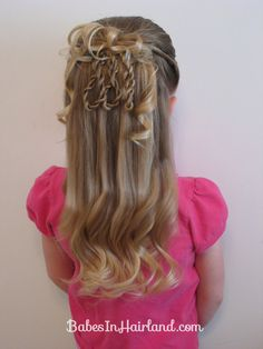 Fancier 3 Rope Braid Loop Hairstyle (14)