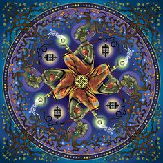 Potential Mandala Digital Art by Cristina McAllister