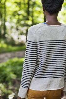 """""""Breton,"""" by Jared Flood, knit with Brooklyn Tweed Loft."""