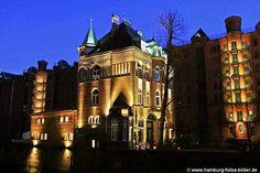 #Wasserschloss Hamburg #Speicherstadt bei Nacht