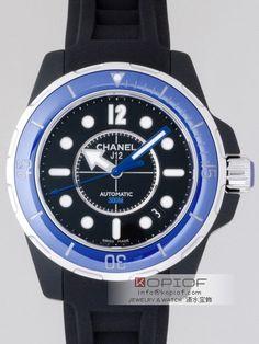 シャネルJ12 スーパーコピーシャネル CHANEL J12 マリーン H2561 38mm ブラックセラミック ブラックラバー ブルーベゼル ブラック 販売価格:19500 円 ポイント付与:1360 P http://www.jikopi.net/watch/chanel/38/138101eecc58503e.html