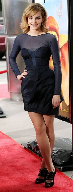 By 2008 she had it down. | 37 Times Emma Watson Proved That She's Always Been Super-Human Gorgeous