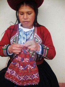 Chinchero-style knitting