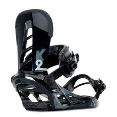 Indy Snowboard Bindings-Black from Snowboard Bindings, K2, Black Media, Snowboarding, Baby Strollers, Indie, Hardware, Medium, Stuff To Buy