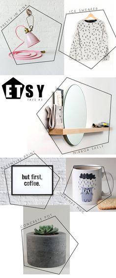 Etsy favs - Et pourquoi pas Coline Design Blog, Web Design Inspiration, Book Design, Print Design, Mise En Page Magazine, Magazine Layout Design, Presentation Layout, Newsletter Design, Summer Design