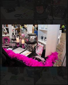 Passion Parties booth at the Jacksonville Women In Business Expo - June 2014