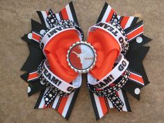 Texas Longhorns bows for girls - Google Search