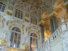 Saint Petersburg, the Hermitage. So much gold that I needed my sun glasses!