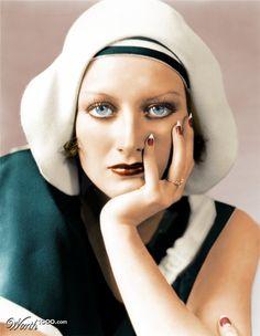 joan crawford's eye color - Google Search
