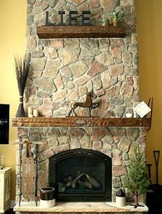 Rustic hand crafted wood fireplace mantels - New Jersey