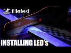 Flite Test - Installing LEDs - FLITE TIP - YouTube