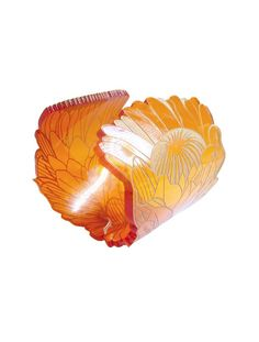 Perspex Cuff with Engraved Cut out Queen Protea Detail.