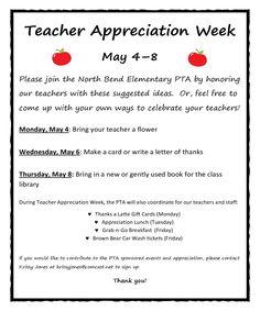 Teacher Appreciation Week  Is Teacher Appreciation Week Show Your