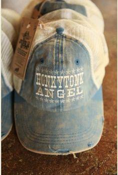 honkyToNK Angel Trucker cap