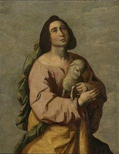 St. Agnes - my patron saint