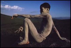 Photo by James Nachtwey, South Africa, 1992 - Xhosa young men in rite of passage. James Nachtwey, Most Famous Photographers, Great Photographers, Salvador, Xhosa, Rite Of Passage, Documentary Photography, South Africa, Documentaries