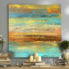 Abstract Canvas Art, Canvas Wall Art, Map Painting, Leaf Art, Art Plastique, Beautiful Paintings, Painting Inspiration, Modern Art, Art Projects
