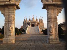 BAPS Shri Swaminarayan Mandir in Neasden, Greater London-FREE