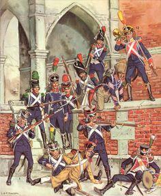 liliane & fred funcken, infanterie legere. l'uniforme et les armes des soldats du 1er empire