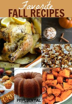 Favorite Fall Recipes! LOVE!!! #fitfluential #food #fitness