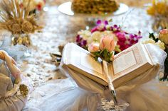 """""""Sofreh Aghd"""" or """"Sofreh Aked"""" is a ceremonial wedding spread that's placed infront of the Bride and Groom with each food or item placed at the spread pertaining to some symbolical meaning."""