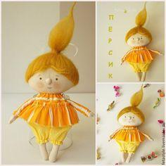 Купить Карамельки Куклы-подвески текстильные - кукла малышка, маленькая кукла, Маленькая куколка