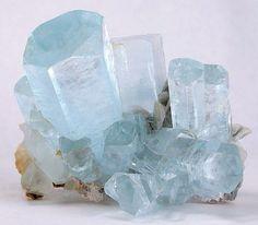 "Beryl : variety, Aquamarine,  From the Land of Summayar ""ChumarBakur"" Nagar Valley, Gilgit-Pakistan"