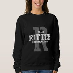 Funny Vintage Style TShirt for RITTER - unusual diy cyo customize special gift idea personalize