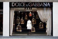 Christmas Windows Displays Dolce & Gabbana