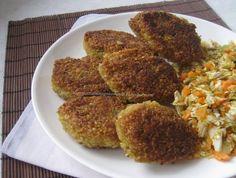 Szybkie gotowanie: Kotleciki z ciecierzycy (falafel)