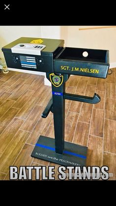 Warrior Rack, Law Enforcement Gear, Police Crafts, Police Wife Life, Police Gear, Duty Gear, Build Something, Thin Blue Lines, Woodworking Projects