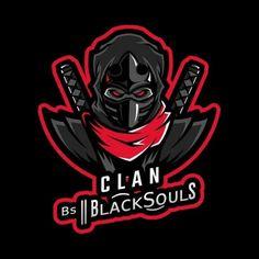 Ninja Art, Game Logo Design, Man Games, Face Men, Art Template, Slogan, Samurai, Art Ideas, Label
