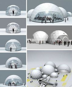 Lightweight Living: Global 4-Season Geodesic Dome Homes