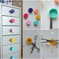 Come personalizzare la cassettiera Helmer di Ikea