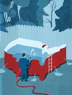 USA issues,Emiliano Ponzi illustration
