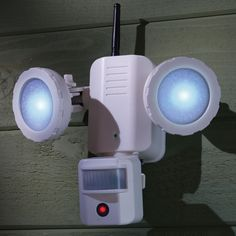 The motion tracking security light hammacher schlemmer need this the solar powered video security light hammacher schlemmer aloadofball Choice Image