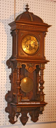 ~ Openwell Regulator ~ antique-clock.com