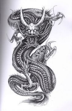 ouroboros dragon drawing - Google Search