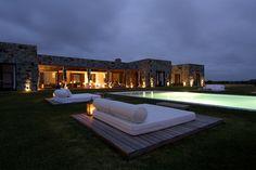 Stone House & Poolside