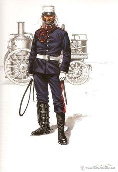 Oficial de Ingenieros - España - Guerra de Marruecos, 1907-1908.