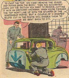 Hot Rod Comic