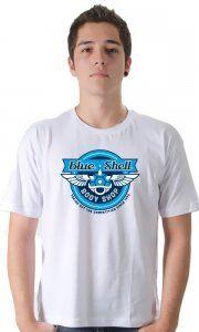 Camiseta Namorado Geek Blue Shell - Camisetas Personalizadas, Engraçadas e Criativas