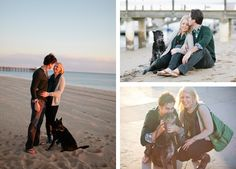 sweet + simple engagement session. Photo by Joielala Photographie.