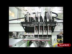 CNC Router - Multi spindle toolchange  #cnc #CNCrouter #C.R.Onsrud #scarlettinc