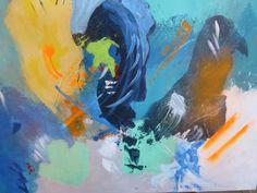 Acrylique sur toile - Le règne animal -