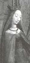 Constance of Antioch, Princess of Antioch (1127 - 1163) My 27th great grandmother. She was the daughter of Bohemond II of Antioch and Alice of Antioch. She was the wife of Raynald of Châtillon and the mother of  Agnes of Antioch.